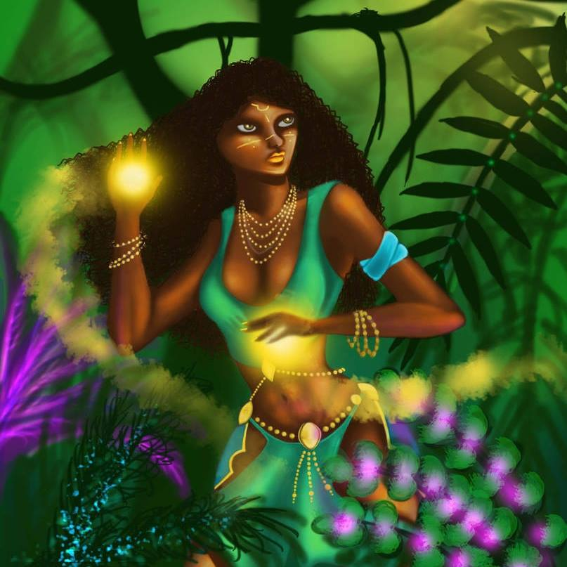 Nữ thần của ánh sáng Yhi