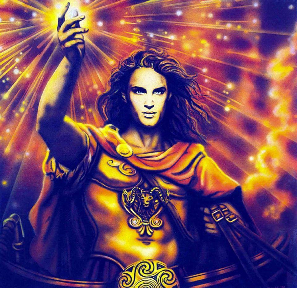 Thần mặt trời Helios