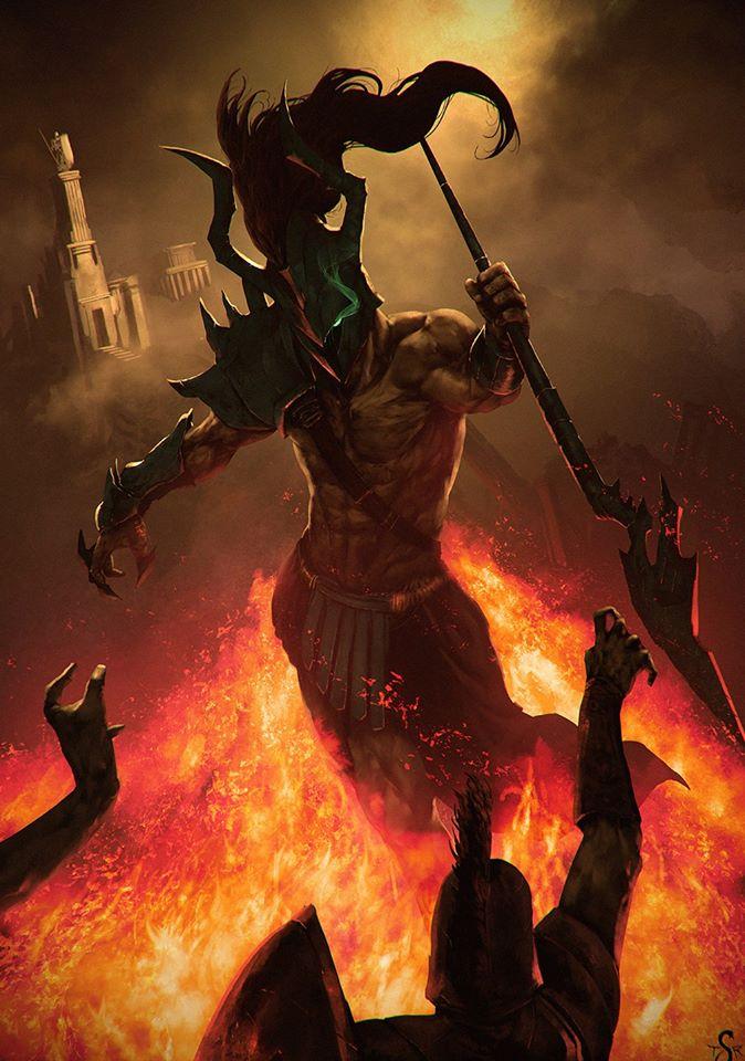 Deimos vị thần khủng bố trong thần thoại Hy Lạp