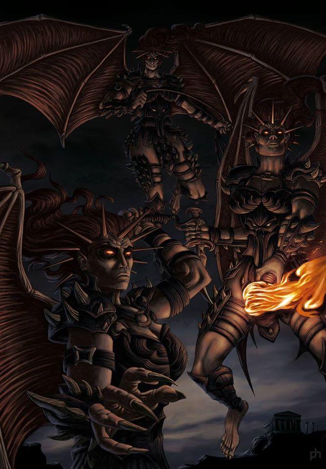 Ba nữ thần báo thù Erinyes