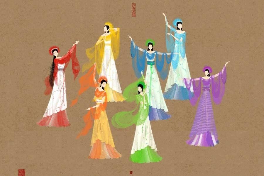 Truyền thuyết Đổng Vĩnh và Thất Tiên Nữ - Thiên tiên phối