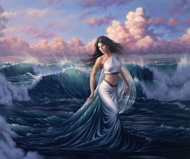 TItan Eurynome nữ thần của sự duyên dáng và xinh đẹp