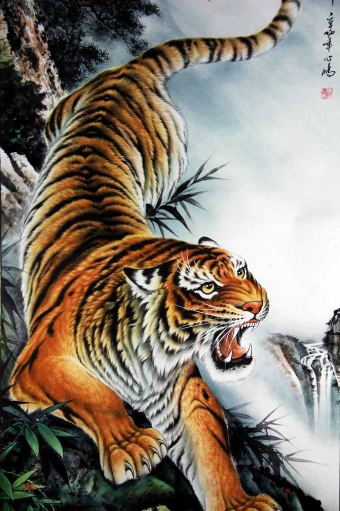 Sự tích con hổ, con cọp, con beo, con báo