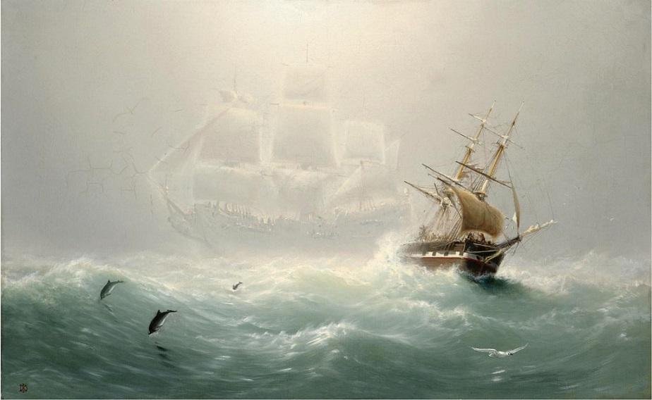 Truyền thuyết về người Hà Lan bay hay con tàu ma Flying Dutchman
