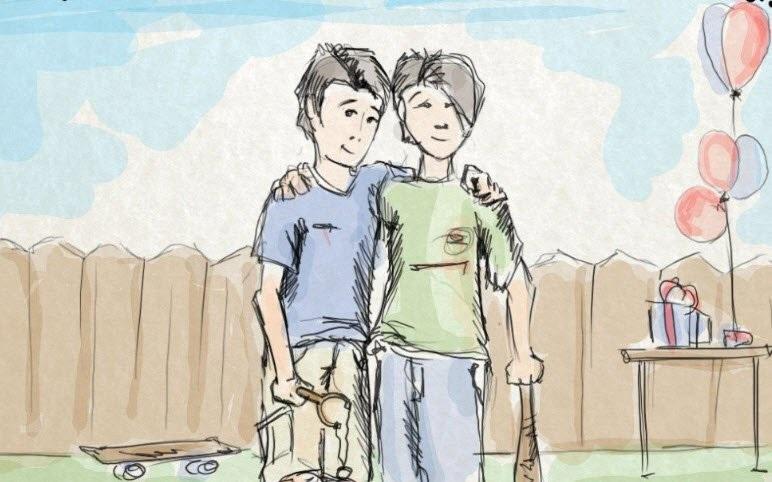 Chuyện về tình bạn giữa Voòng và Liòng