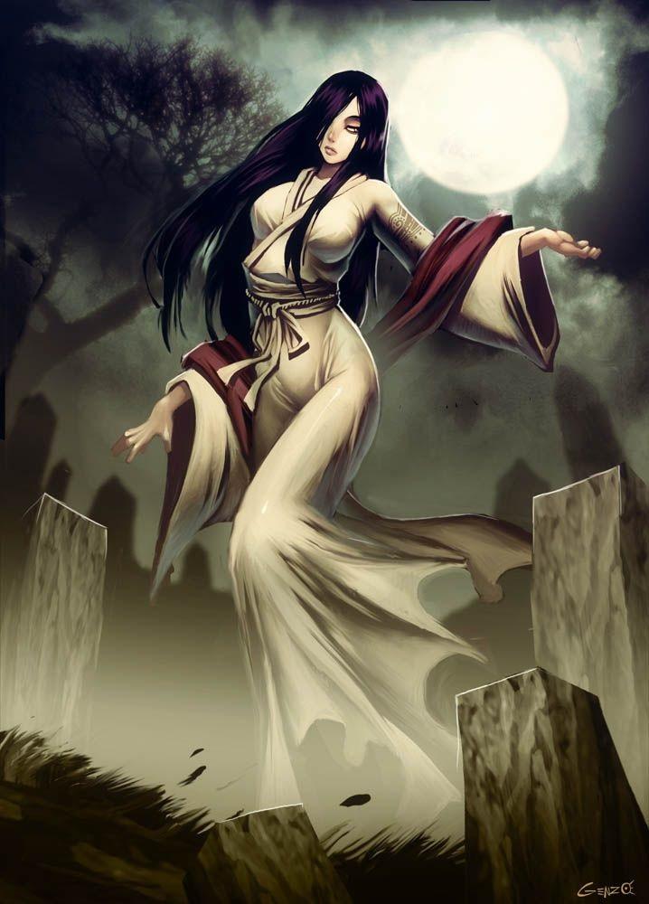 Yurei - Yêu ma trong thần Đạo