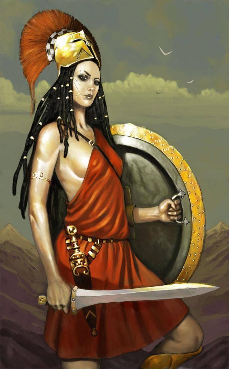 Otrera - nữ hoàng Amazon đầu tiên