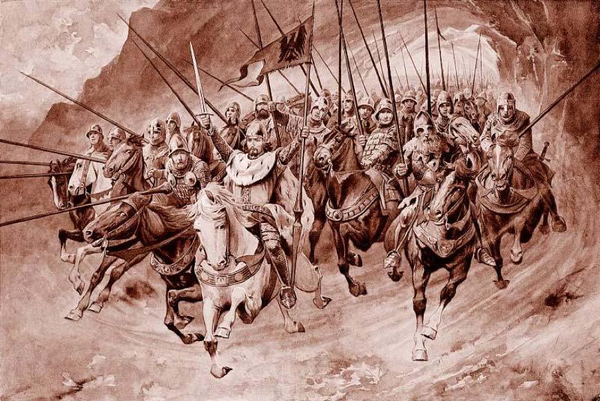 Truyền thuyết các hiệp sĩ núi Blanik