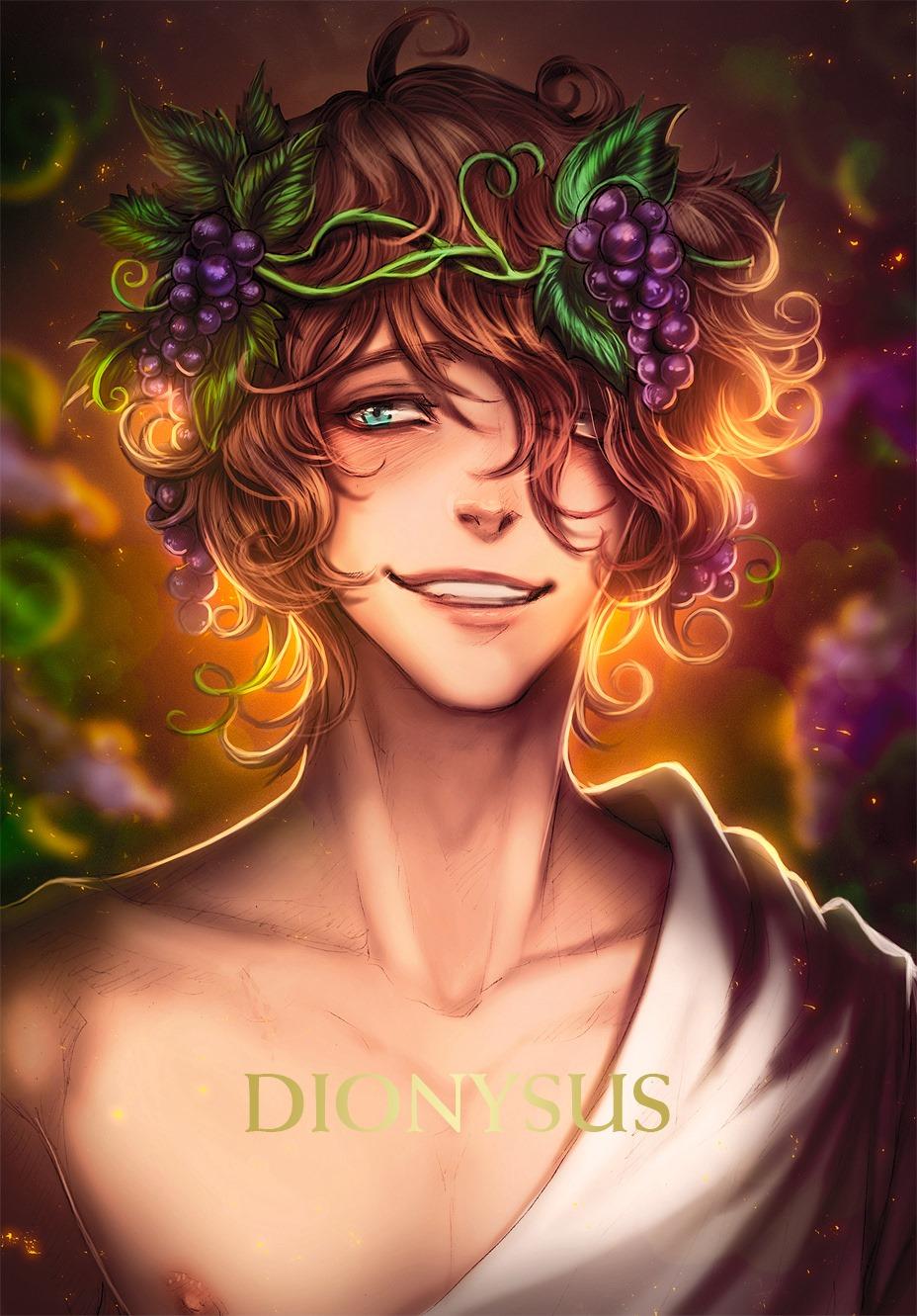 Dionysus - vị thần mang vẻ đẹp phi giới tính - biểu tượng của sự phi định kiến và nổi loạn