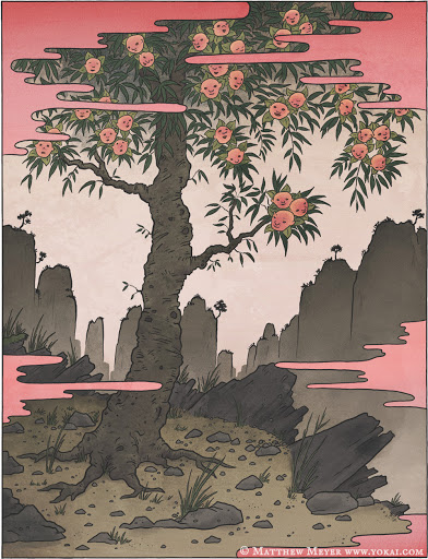 Nhân Diên Thụ Ninmenju (人面樹)