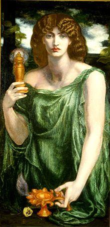 Mnemosyne - nữ thần của trí nhớ và ký ức