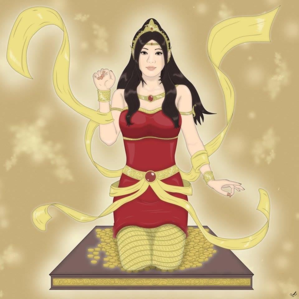 Nữ thần tài lộc - Mae Nang Kwak