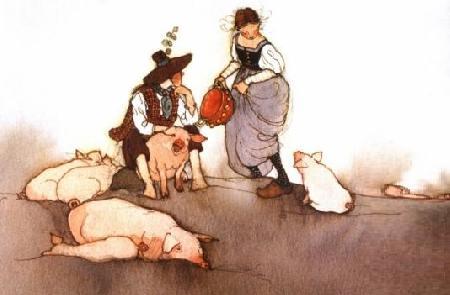 Anh chàng chăn lợn
