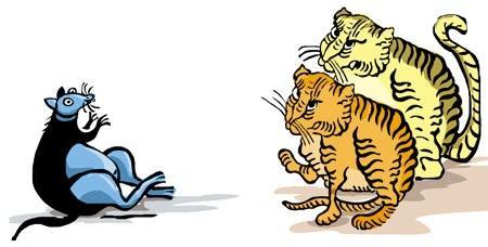 Mèo, chuột kết nghĩa