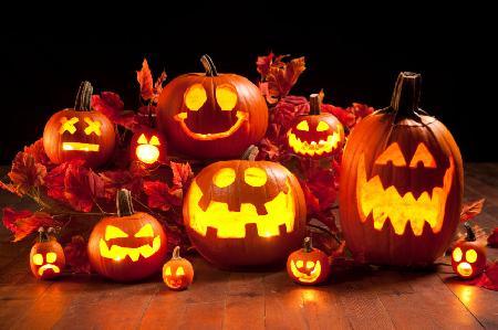 Quả bí ngô trong ngày lễ Halloween