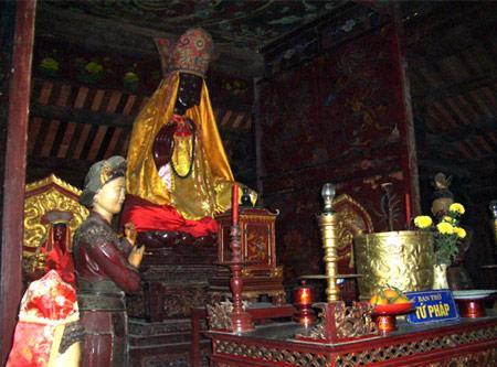 Phật mẫu Man Nương - truyền thuyết tứ pháp chùa Dâu