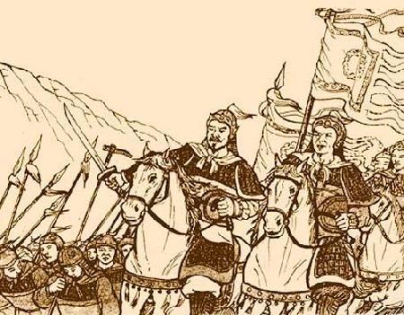 Truyền thuyết về nhị vị tướng quân anh dũng của Triệu Quang Phục