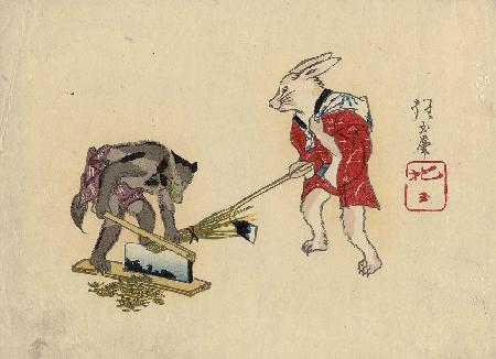 Con lửng độc ác và sự trả thù của thỏ
