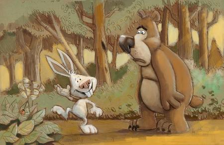 Cổ tích: Thỏ và Gấu