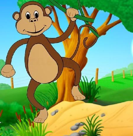 Cổ tích con khỉ suýt bị mất gan