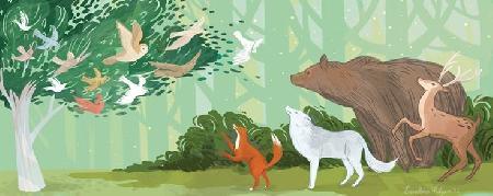 Chuyện cổ: Chim hồng tước và gấu