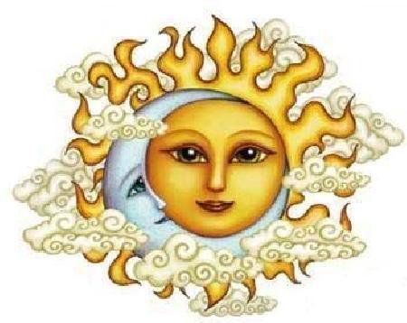 Nữ thần mặt trời và nữ thần mặt trăng
