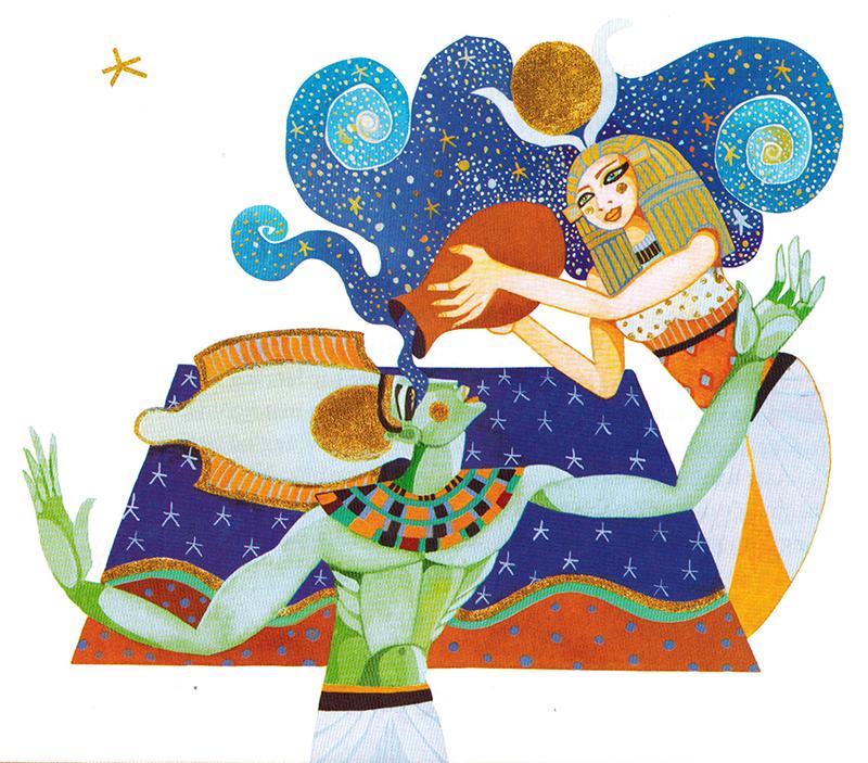 Chiến binh Heru Sa Aset (Horus cháu) -  Chiến binh Trẻ Vương Thần