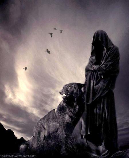 Chó sói và người