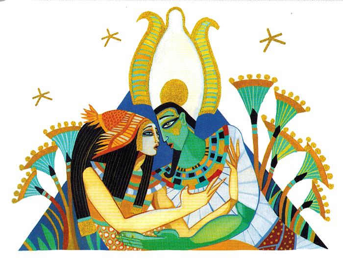 Nữ thần Aset cứu chồng