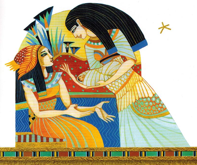 Nữ Thần Aset Đi Tìm Chồng - Aset(Isis) - Nữ thần Mẹ hết mình vì chồng con