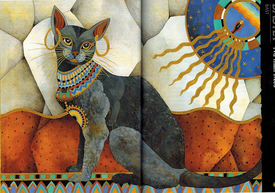 Nữ thần Bastet (Bast) - Nữ thần Mèo