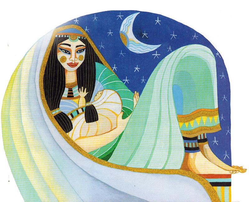 Nữ thần Nebet Hut (Nephthys) - Nữ thần của Tận Tụy