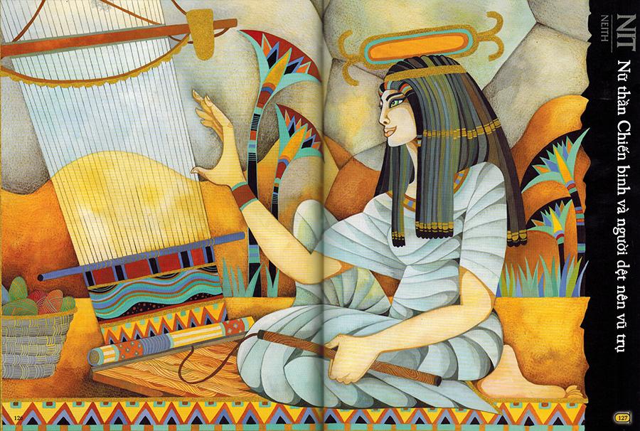 Nữ thần Nit (Neith) - Nữ thần Chiến binh và người dệt nên vũ trụ