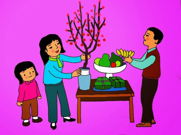 Sự tích hoa đào