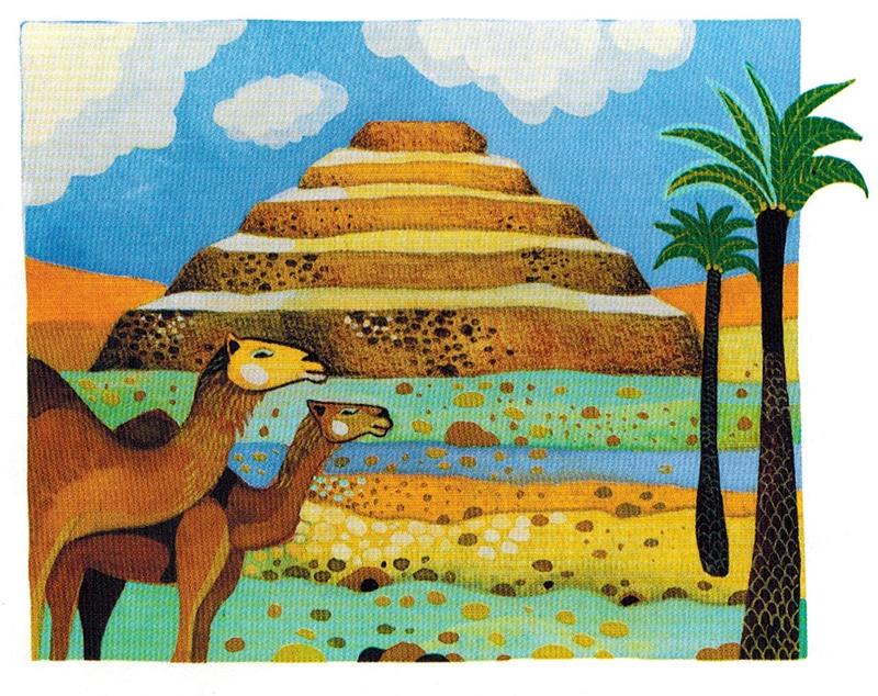 Thần Imhotep (Imuthes) - Thần Y và kiến trúc