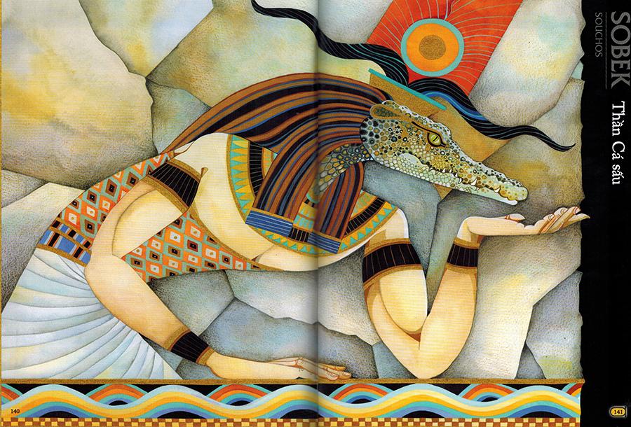 Thần Sobek (Souchos) - Thần Cá sấu