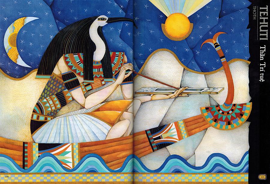 Thần Tehuti (Thoth) - Thần trí tuệ