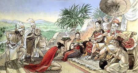 Chuyện tổ tiên mở nước