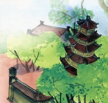 Sự tích Tháp Bút Kim Nhan