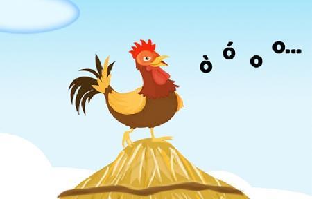 Vì sao chú gà trống lại gáy?