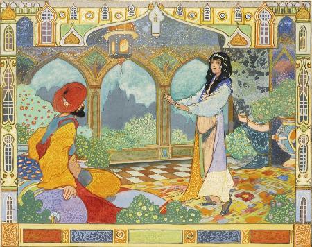 Chương 40: Hoàng tử Admed và nàng tiên Pari-Banou