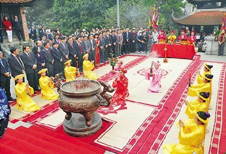 Văn khấn ngày giỗ tổ Hùng Vương