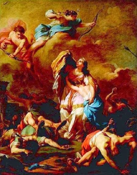 Artémis trừng phạt Niobé