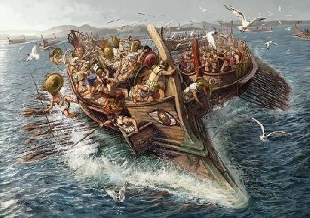 Athéna thắng Poséidon, được cai quản miền đồng bằng Attique
