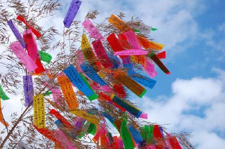 Tanabata sama - Truyền thuyết về lễ hội Sao