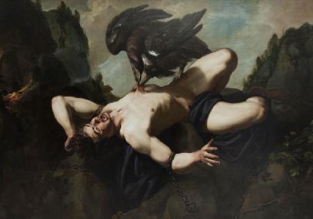 Zeus trừng phạt Prométhée