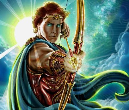 Apollon lột da tên Marsyas