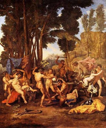 Déméter trừng phạt Érysichthon