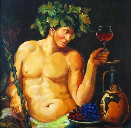 Dionysos trọng thưởng Icarios