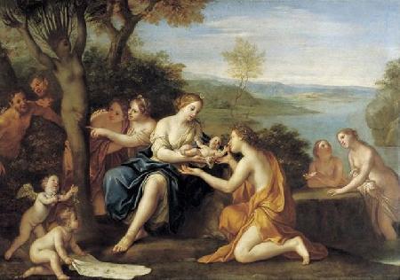 Mối tình của Aphrodite với Adonis
